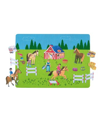 Riding School Felt Tale Set