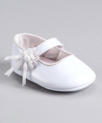 White Patent Shoe