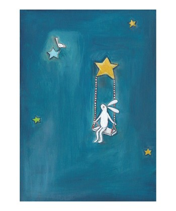 Swinging on a Star Print