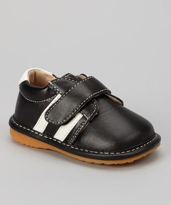 Laniecakes Black & White Stripe Squeaker Sneaker