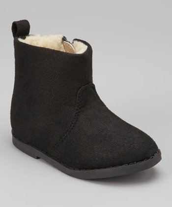 Black Sueded Boot
