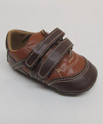 Aadi Brown & Tan Double-Strap Sneaker