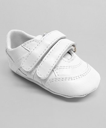 Aadi White Double-Strap Sneaker