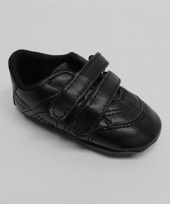 Aadi Black Double-Strap Sneaker