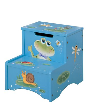 Frog Storage Step Stool