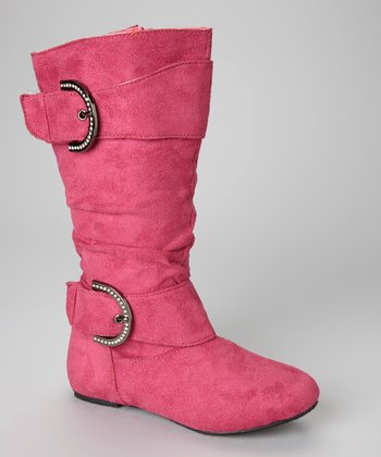 Fuchsia Bella 6 Boot