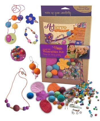 Woolen Felt Jewelry Kit