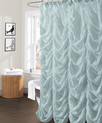 Sea Foam Madelynn Shower Curtain