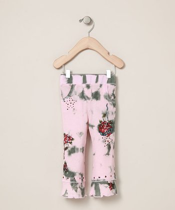 Pink Rose Pants - Infant & Toddler