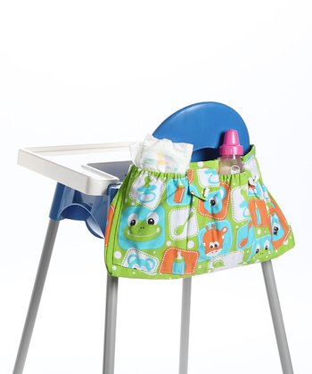 Green High Chair Organizer