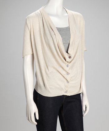 Sand & Canvas Linen-Blend Cardigan - Women