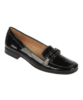 Black Rina Loafer
