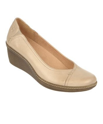 Moon Stone Mirage Genie Leather Wedge