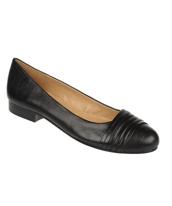Black Sheep Symphony Leather Leana Flat
