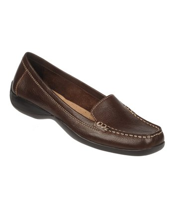 Oxford Brown Century Vintage Calf Leather Loafer