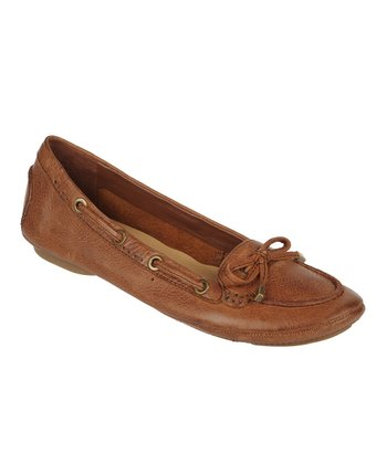 Banana Bread Enlight Leather Flat