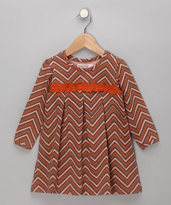 Chevron Zoe Dress - Girls