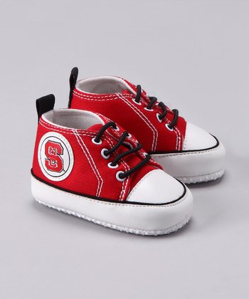 Red North Carolina State Sneaker