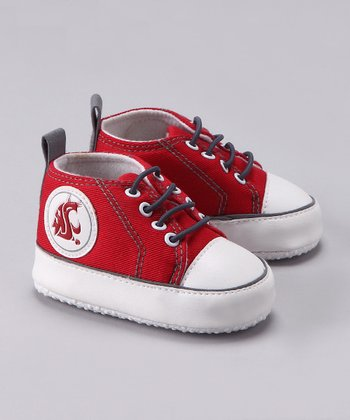Campus Gear Crimson Washington State Sneaker - Kids