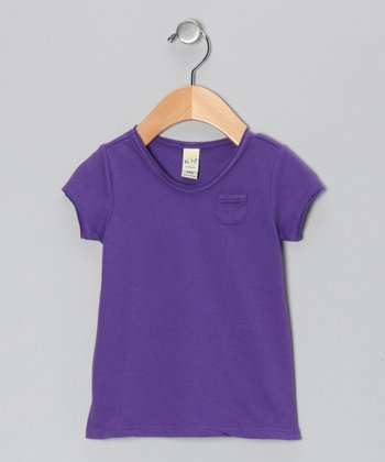 Grape Scoop Neck Tee - Infant