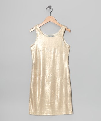 Golden Waves Dress