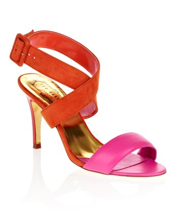 Orange & Pink Jolea Sandal