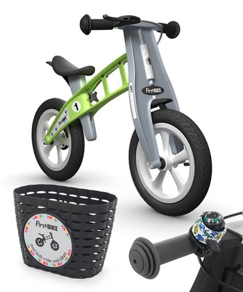 Green Dino STREET FirstBIKE Set