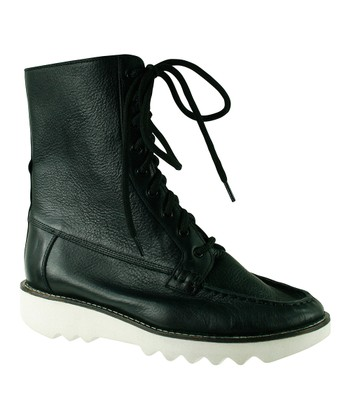 Black Stine Boot - Women