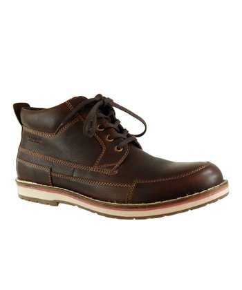 Brown Leather Sanita Boot - Men