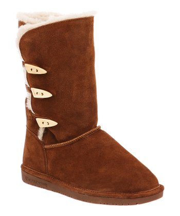 Hickory Suede Sarah Boot - Women