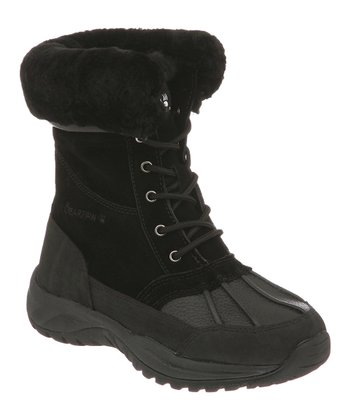 Black Stowe Duck Boot - Women