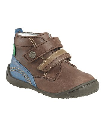 Brown Guignol Ankle Boot - Kids
