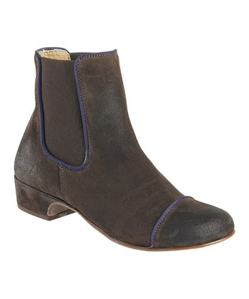 Dark Brown Gallagher Boot - Women