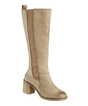 Dark Beige Kilfo Boot - Women