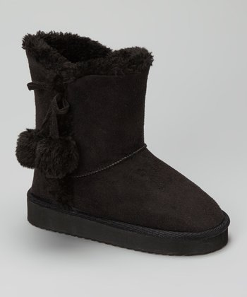 Black Cailin Boot - Kids