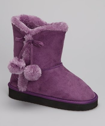 Purple Cailin Boot - Kids