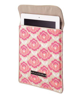Flowering Firenze Stowaway Sleeve for iPad 2/