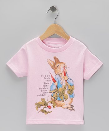 Pink Peter Radishes Tee - Toddler & Girls