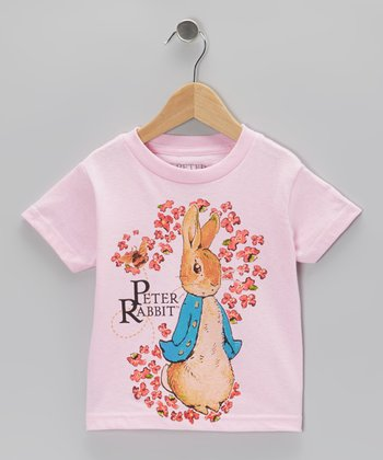 Pink Peter Flowers Tee - Toddler & Girls