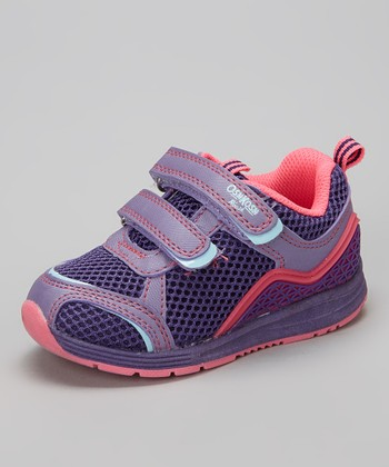 Purple & Pink Inferno Light-Up Sneaker