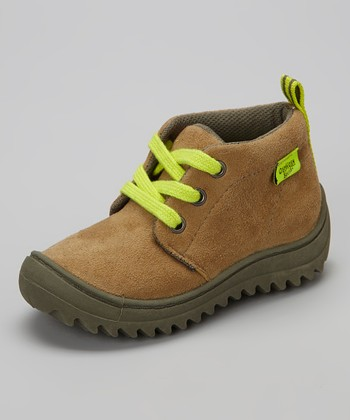 Khaki & Green Ramon Ankle Boot