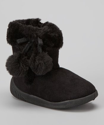 Black Haylster Boot - Kids