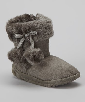 Gray Haylster Boot - Kids