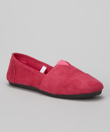 Fuchsia Timson Slip-On Shoe