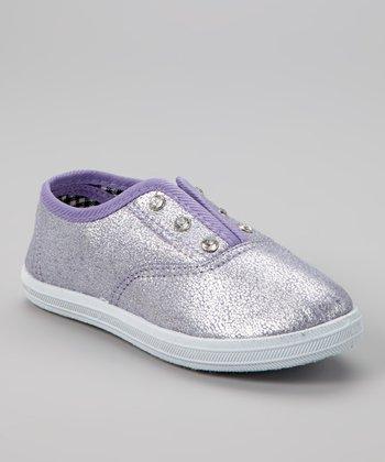 Purple Hanging Slip-On Sneaker