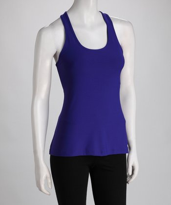 Purple Racerback Tank