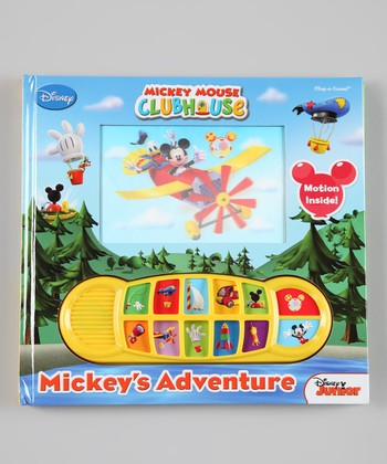Mickey's Adventure Sound Hardcover