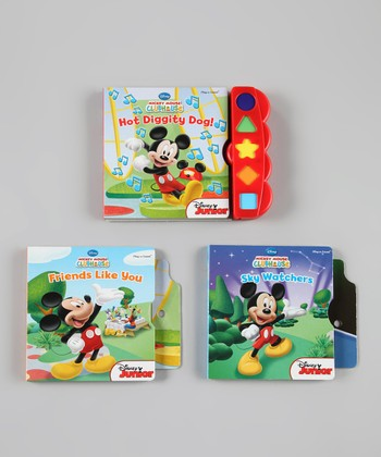 Play-A-Sound Board Book Set