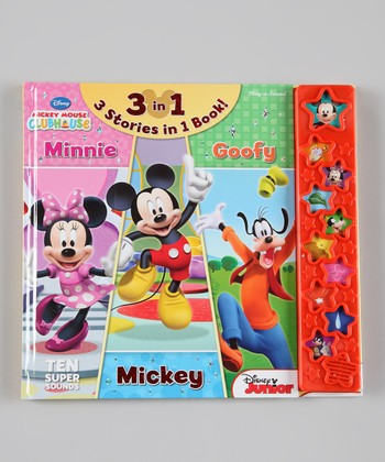 Three-in-One Mickey Hardcover