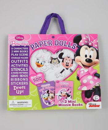 Minnie Mouse Paper Doll Kit